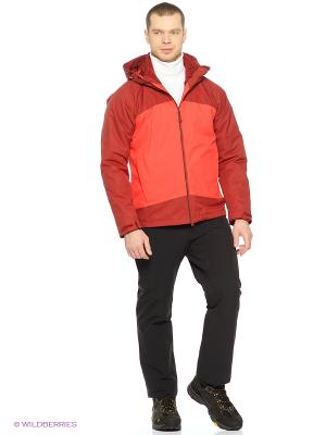 Куртка FROST WAVE JACKET MEN Jack Wolfskin. Цвет: красный