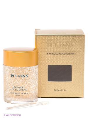 Био-золотой крем от морщин -Gold Cream, 60г PULANNA. Цвет: золотистый