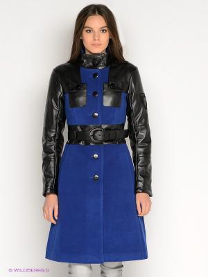 Пальто DOCTOR E. Цвет: синий, черный