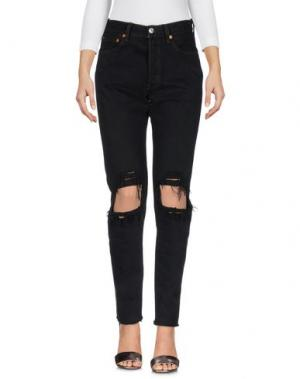 Джинсовые брюки FORTE COUTURE. Цвет: черный