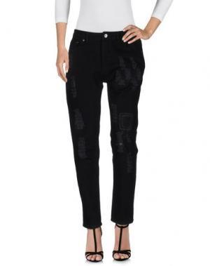 Джинсовые брюки PUBLISH. Цвет: черный