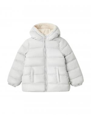 Куртка Benetton. Цвет: серый