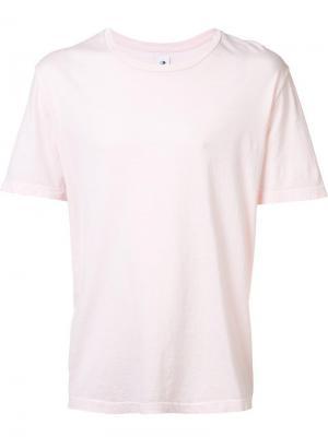 Футболка с круглым вырезом 321. Цвет: розовый и фиолетовый
