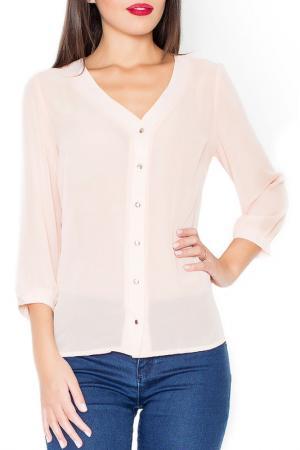 Блуза KATRUS. Цвет: pink