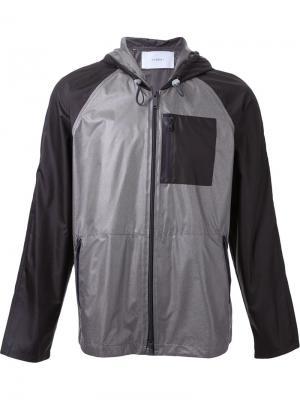 Куртка с капюшоном на молнии Ovadia & Sons. Цвет: серый