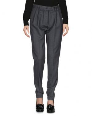 Повседневные брюки •MILANO PARIGI•. Цвет: свинцово-серый