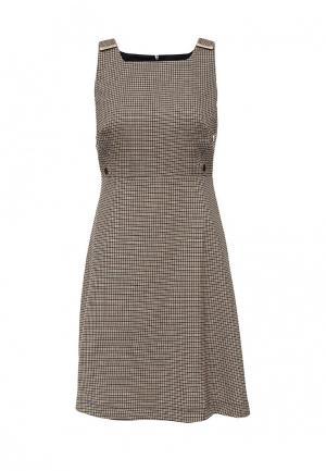 Платье Dorothy Perkins. Цвет: коричневый