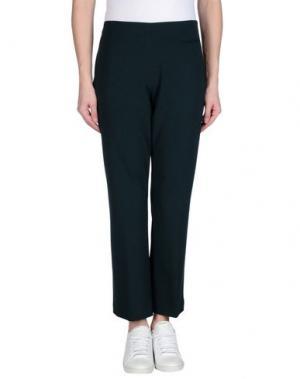 Повседневные брюки TRUE ROYAL. Цвет: темно-зеленый