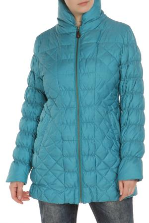 Куртка Loft. Цвет: бирюзовый