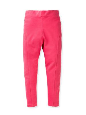 Леггинсы FLOBABY. Цвет: розовый