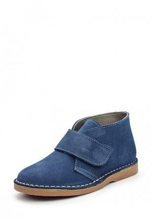 Ботинки Barritos. Цвет: синий