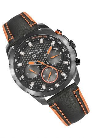 Наручные часы PIERRE RICAUD. Цвет: черный, оранжевый