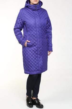 Пальто Loft. Цвет: фиолетовый