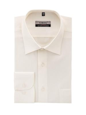 Рубашки GREG. Цвет: бежевый