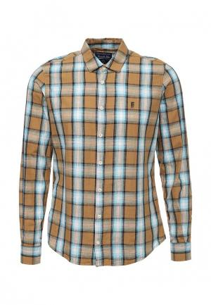 Рубашка Frank NY. Цвет: бежевый