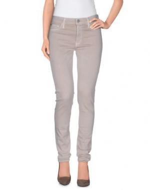 Повседневные брюки HUDSON. Цвет: бежевый
