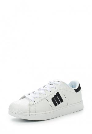 Кроссовки MTNG. Цвет: белый