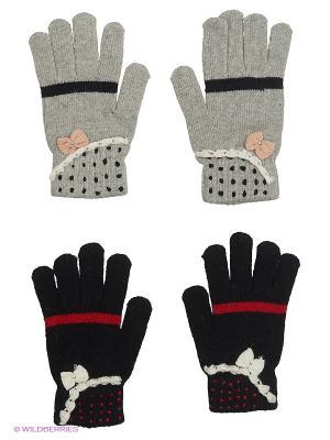 Перчатки FOMAS. Цвет: серый, кремовый, темно-серый, черный