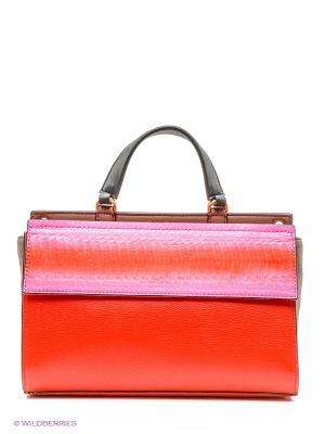 Сумка Calvin Klein. Цвет: розовый