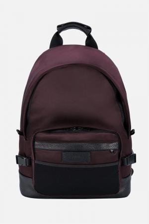 Классический рюкзак Ami Alexandre Mattiussi. Цвет: розовый и фиолетовый