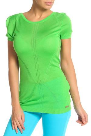 Блуза Whos Who Who's. Цвет: зеленый