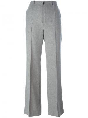Укороченные брюки со стрелками Nehera. Цвет: серый