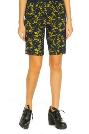 Брюки-шорты ZHOR&NEMA. Цвет: синий, желтый
