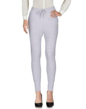 Повседневные брюки LE TRICOT PERUGIA. Цвет: светло-серый