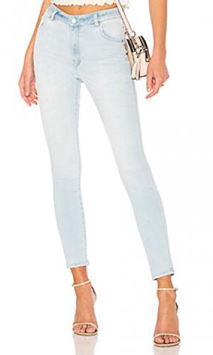 Скинни джинсы до лодыжек westcoast ROLLAS ROLLA'S. Цвет: none