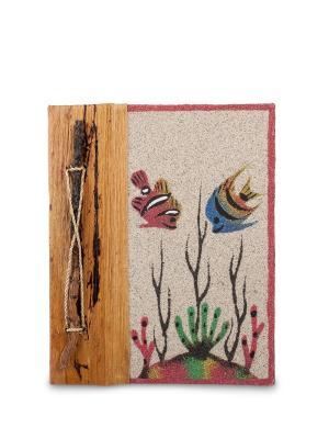 Блокнот Морское дно ср. (о.Бали) Decor & gift. Цвет: бежевый