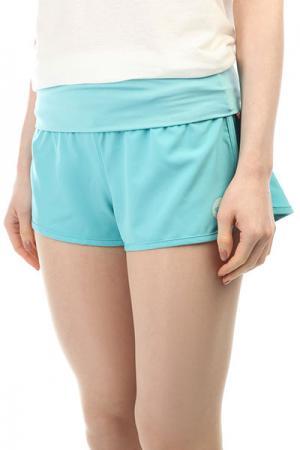 Шорты пляжные женские  Endless Summer Aquarelle Roxy. Цвет: голубой