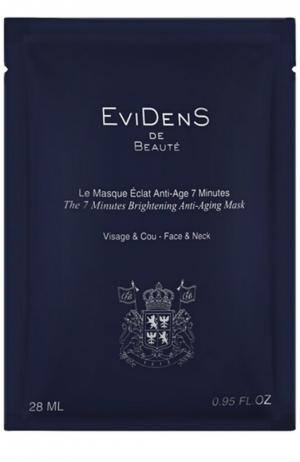 7-минутная маска для сияния кожи EviDenS de Beaute. Цвет: бесцветный