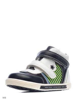Ботинки San Marko. Цвет: белый, черный