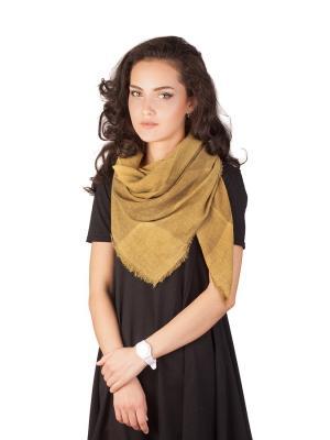 Платок Элеганс (золотой) Le Motif Couture. Цвет: золотистый