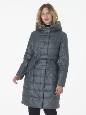 Стеганое пальто CATTAIL WILLOW. Цвет: серо-зеленый
