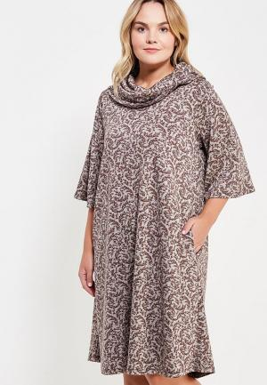 Платье Sparada. Цвет: серый
