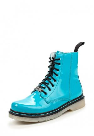 Ботинки Bartek. Цвет: бирюзовый
