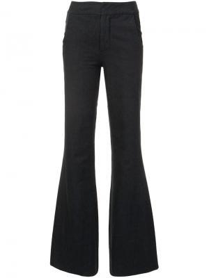 Расклешенные брюки Co. Цвет: серый