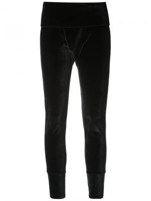 Velvet leggings Osklen. Цвет: чёрный