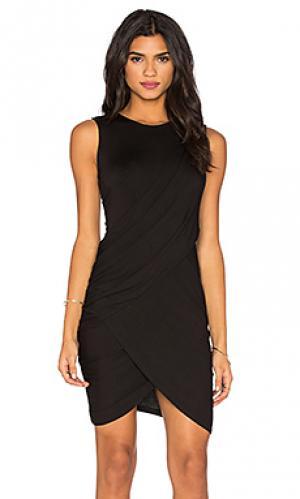 Обтягивающее платье eveny Michael Stars. Цвет: черный