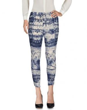 Повседневные брюки MES DEMOISELLES. Цвет: темно-синий