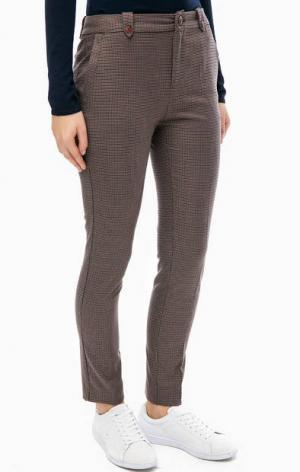 Зауженные брюки повседневного стиля TRUCCO. Цвет: мультиколор