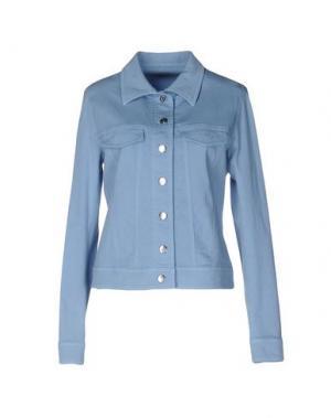 Джинсовая верхняя одежда FEMÌ. Цвет: синий