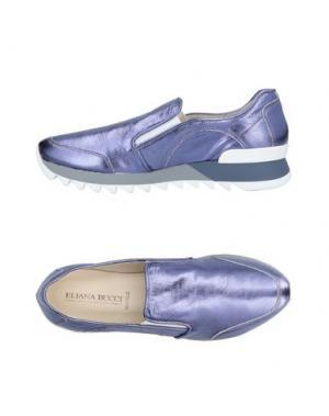 Низкие кеды и кроссовки ELIANA BUCCI. Цвет: светло-фиолетовый