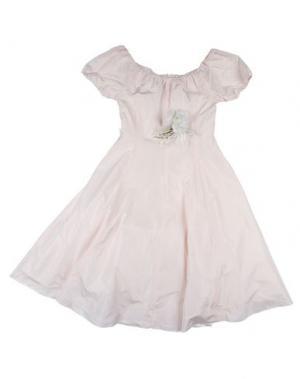 Платье CAF. Цвет: светло-розовый