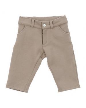 Повседневные брюки LE PETIT COCO. Цвет: светло-коричневый