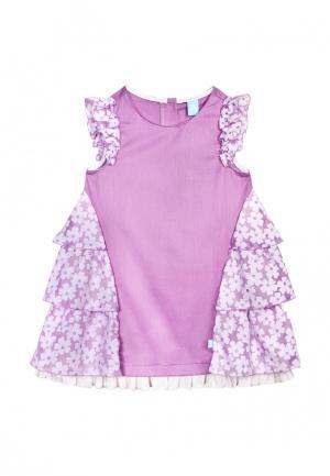 Платье AnyKids. Цвет: фиолетовый