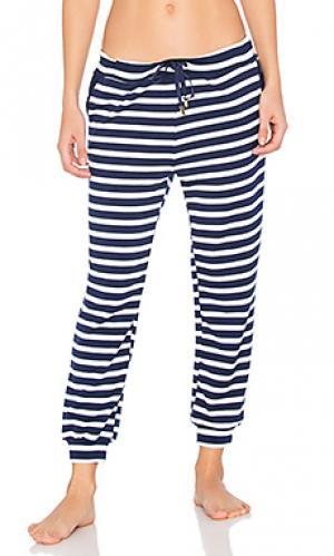 Свободные спортивные брюки Beyond Yoga. Цвет: синий