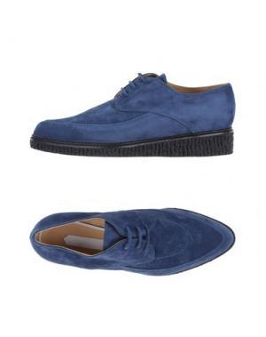 Обувь на шнурках OFF-WHITE™. Цвет: темно-синий