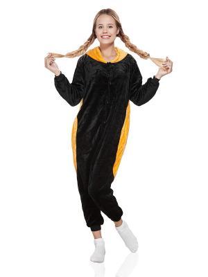 Пижама Енот Nothing but Love. Цвет: черный, оранжевый